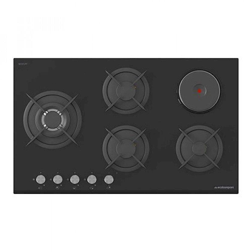 Quraşdırılan bişirmə paneli Bompani ECO-P92G4H1BL