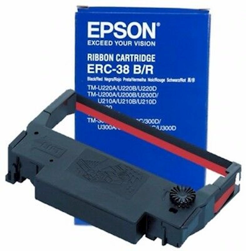 Ribbon kartric Epson ERC-38 Black/Red