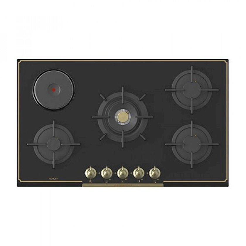Quraşdırılan bişirmə paneli Bompani ECO495BL1