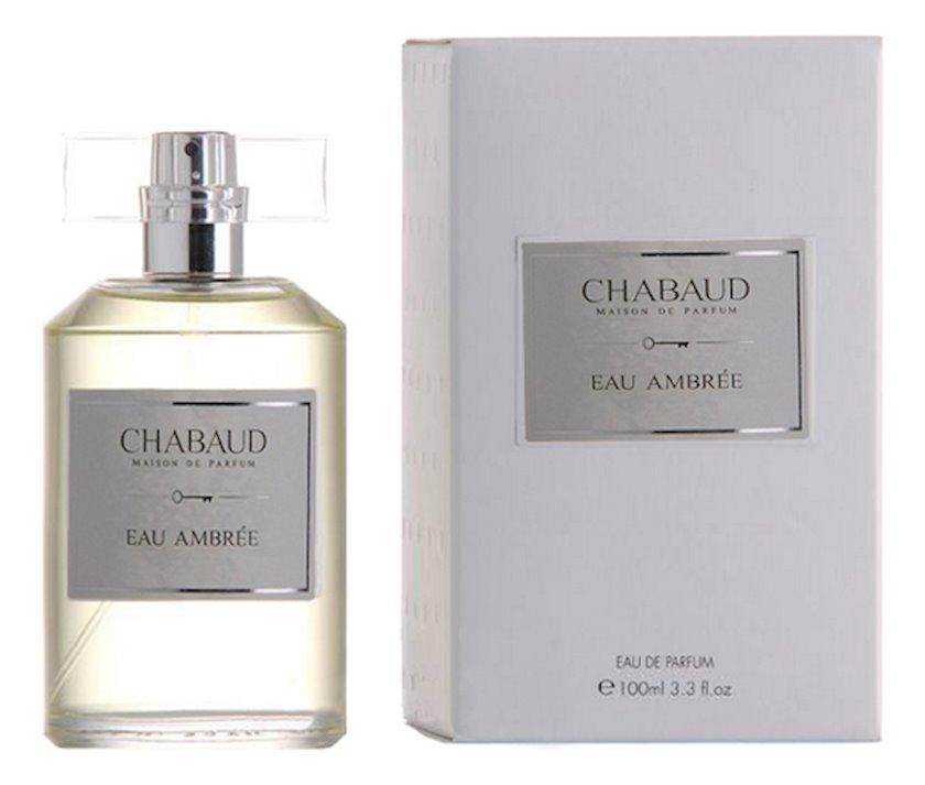 Uniseks ətir suyu Chabaud Maison de Parfum Eau Ambree 100ml