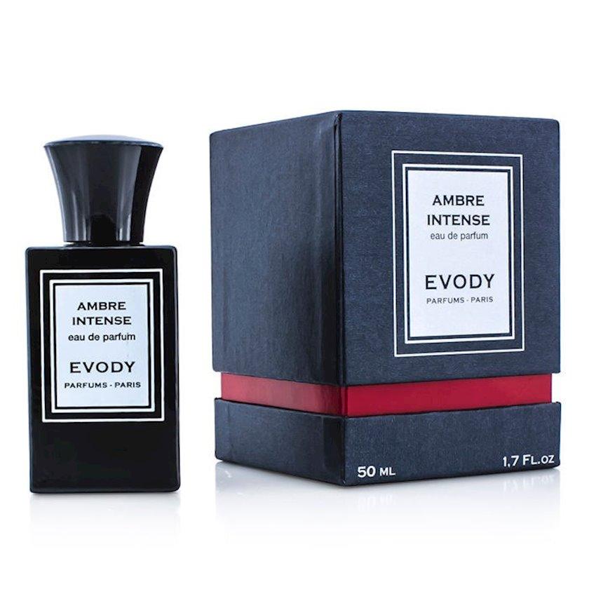Uniseks ətir suyu Evody Parfums Ambre Intense 50ml