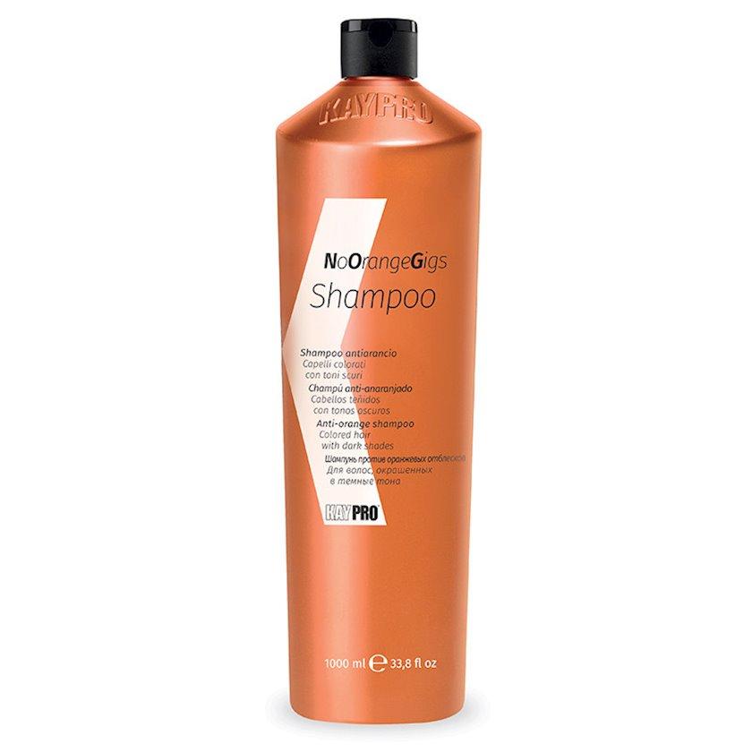 """Şampun KayPro """"NoOrange""""  Saçda olan narıncılığı aradan qaldıran, 1000 ml"""