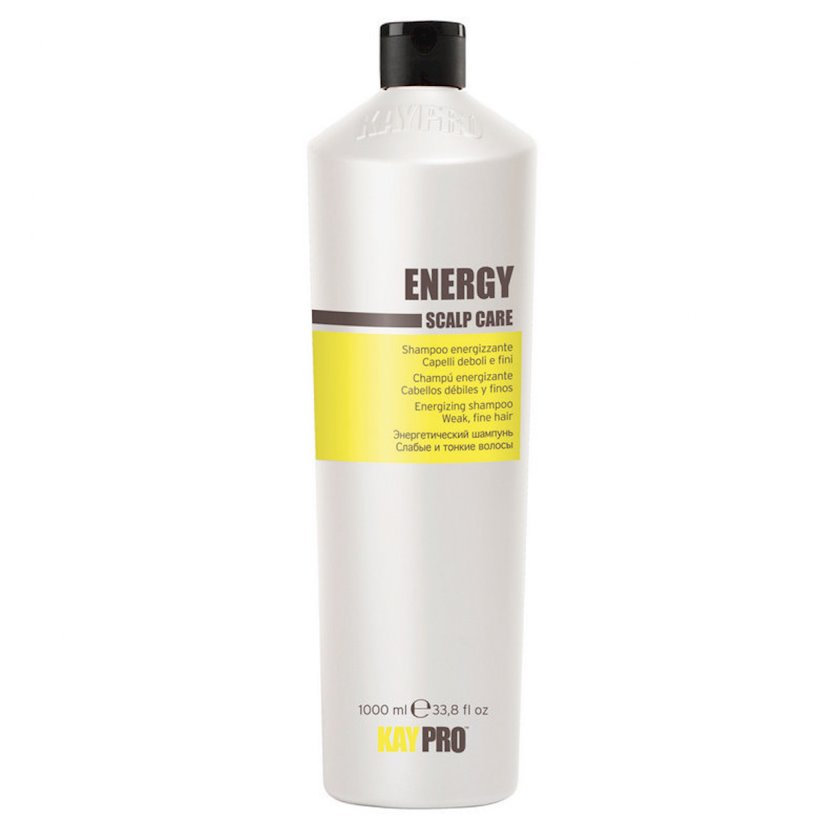 """Nazik və gücsüz saçlar üçün enerji bəxş edən şampun KayPro """"Energy"""", 1000 ml"""