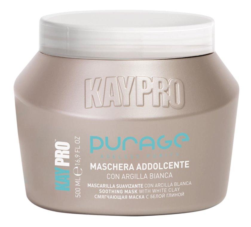 KayPro Purage White Clay Yumşaldıcı Maska, 500 ml