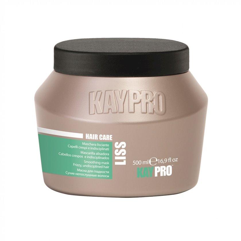 Buruq saçları hamarlamaq üçün KayPro Liss Maska, 500 ml