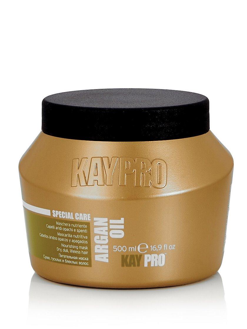 KayPro Argan Yağı Arqan Yağı ilə qidalandırıcı saç maskası, 500 ml