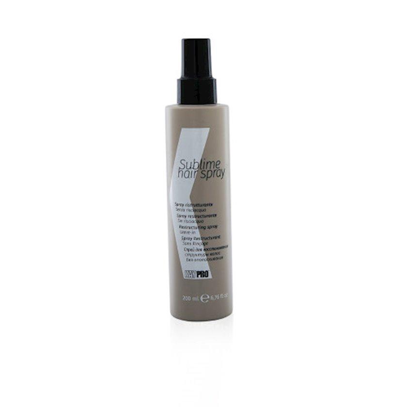 """Sprey KayPro """" Sublime hair spray"""",yuyulmayan,saç strukturunun bərpası üçün,200 ml"""