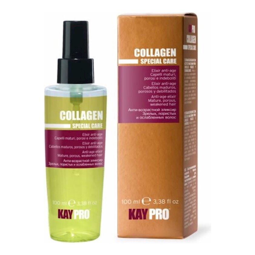 """Eliksir KayPro """"Collagen"""",uzun saçlar üçün,100 ml"""