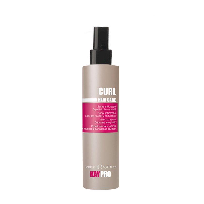 Saçların quruluğuna qarşı KayPro Curl Hair Care Sprey, 200 ml
