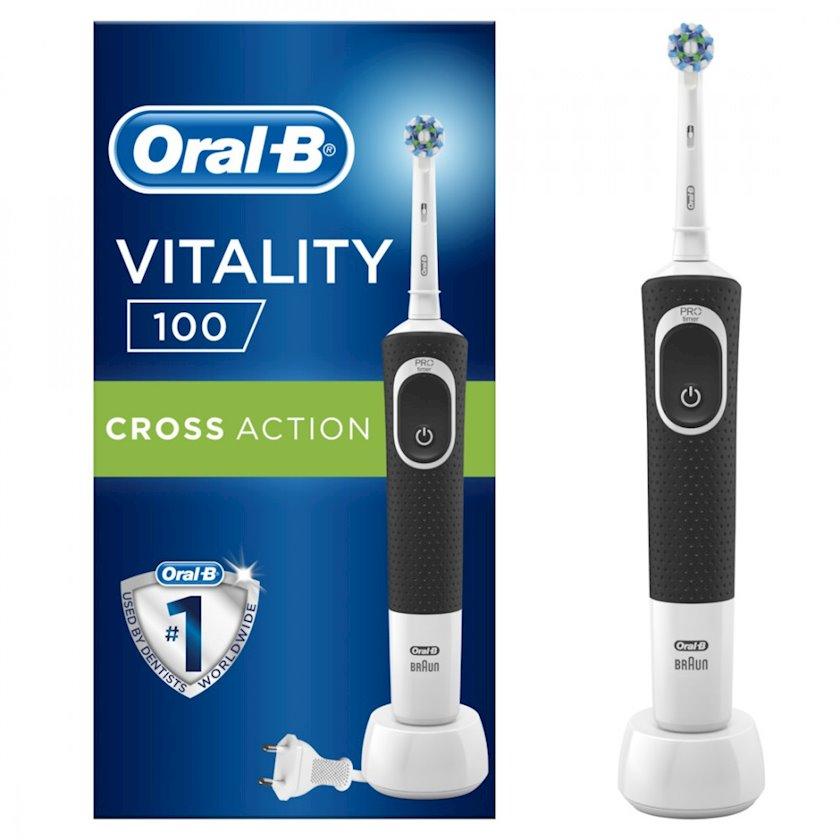 Elektrikli diş fırçası Oral B VITALITY 100 Cross Action Black