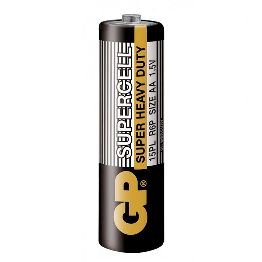 Batareyka GP SupercellBattery1.5V Heavy Duty AA R6P