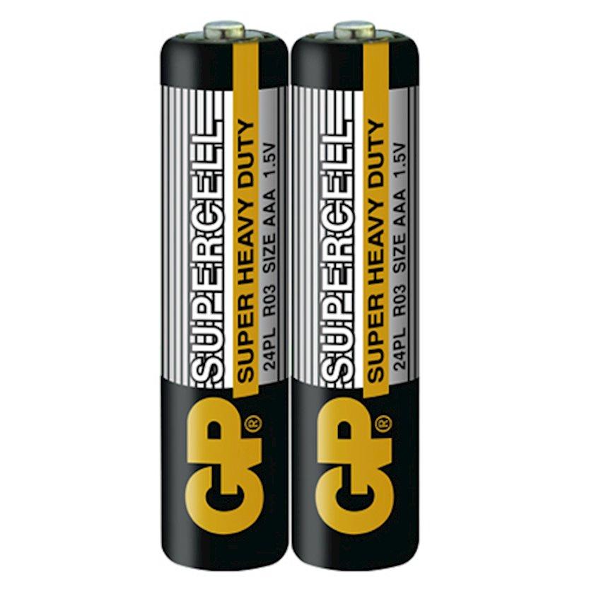 Batareyka GP Supercell Super Heavy Duty AAA 1.5V