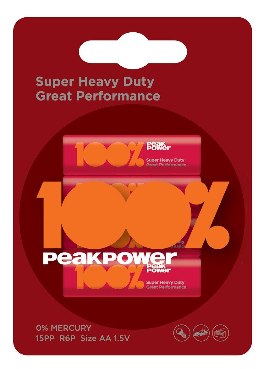Batareyka PeakPower R6/PP15PP-2U4 4BP