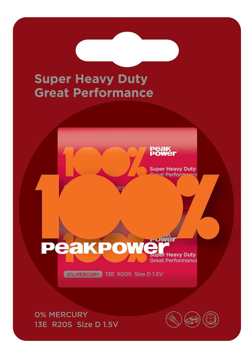 Batareyka PeakPower R20/PP13E-2U2 2BP