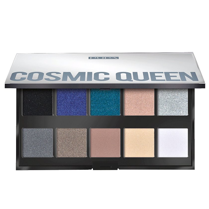 Göz kölgəsi dəsti Pupa Make Up Stories Palette, 004 Cosmic Queen