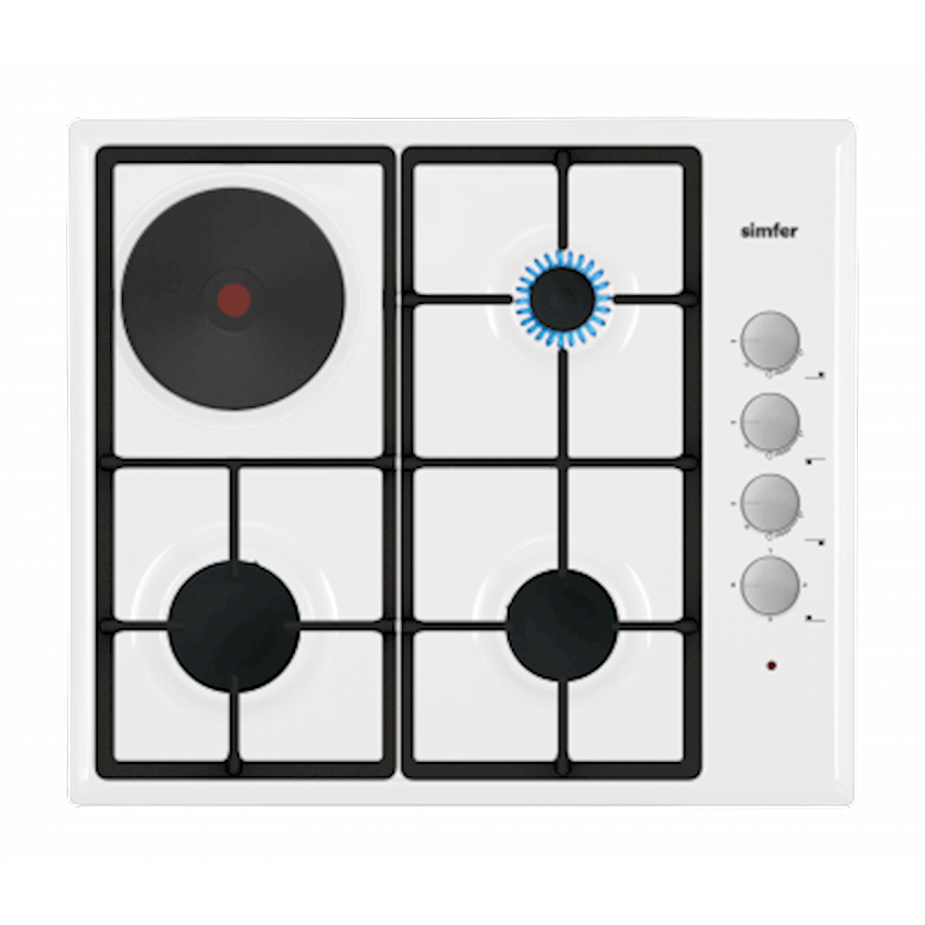 Qaz bişirmə paneli Simfer H6MR3154QW