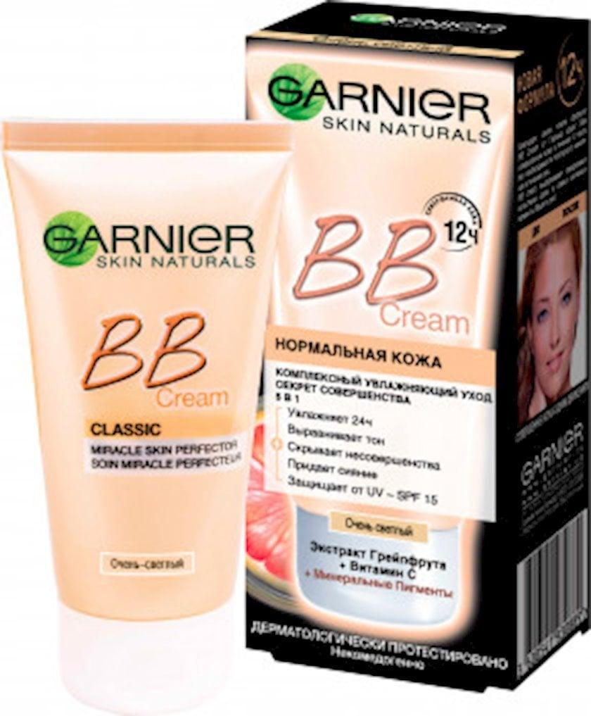 BB-krem normal dəri üçün Garnier Skin Naturals Mükəmməliyin sirri Çox açıq bej 50 ml