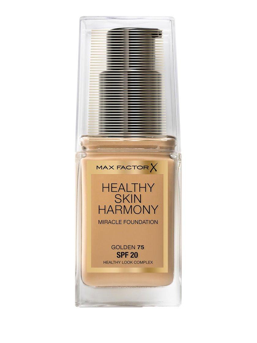 Tonal baza Max Factor Healthy Skin Harmony Miracle Foundation №45 Warm Almond 30 ml
