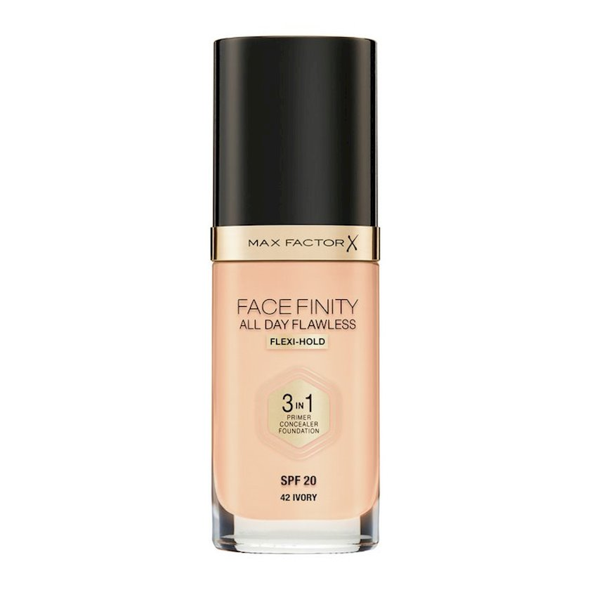 Tonal baza Facefinity All Day Flawless 3-in-1 №42 Ivory 30 ml