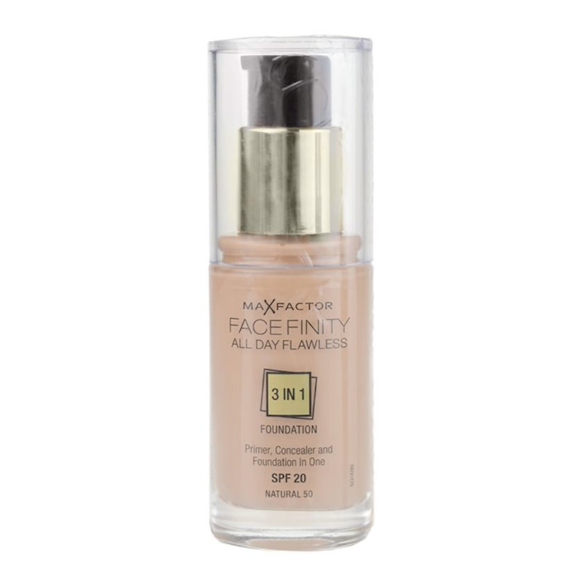 Tonal baza Facefinity All Day Flawless 3-in-1 №50 Natural 30 ml