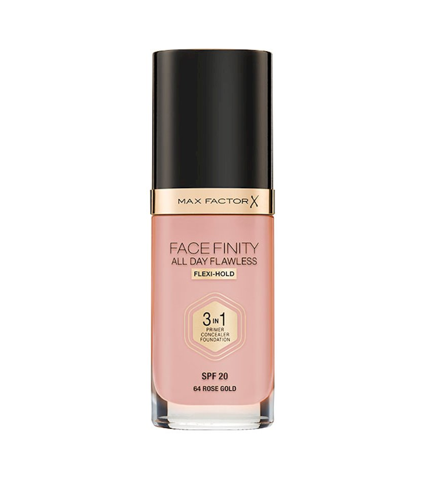 Tonal baza Facefinity All Day Flawless 3-in-1 №64 Rose Gold 30 ml
