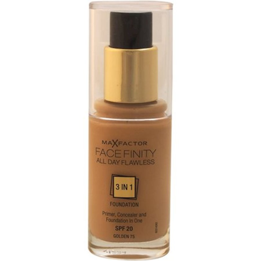 Tonal baza Facefinity All Day Flawless 3-in-1 №75 Golden 30 ml