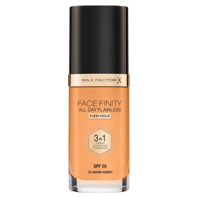Tonal baza Facefinity All Day Flawless 3-in-1 №78 Warm Honey 30 ml