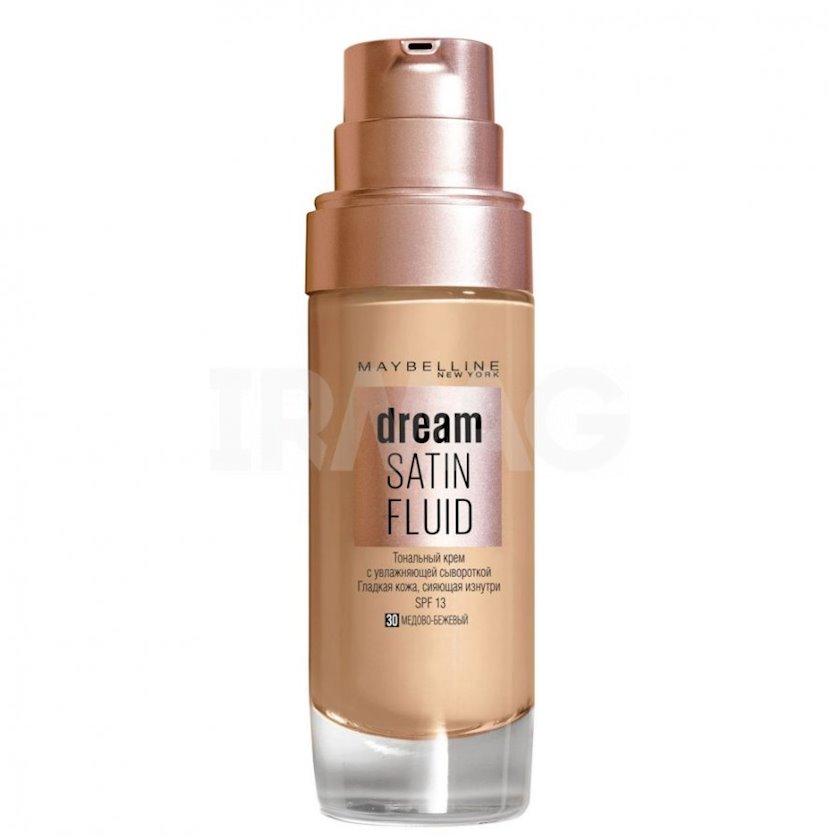 Tonal krem Maybelline Dream Satin Fluid 30 Ballı bej 30 ml
