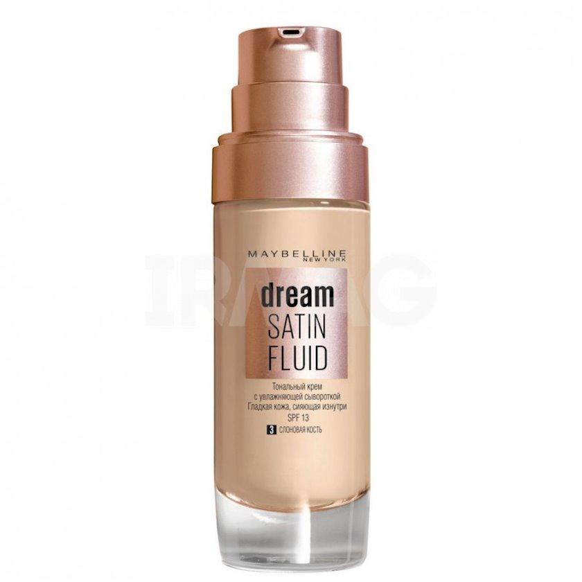 Tonal krem Maybelline Dream Satin Fluid 03 Fil sümüyü 30 ml