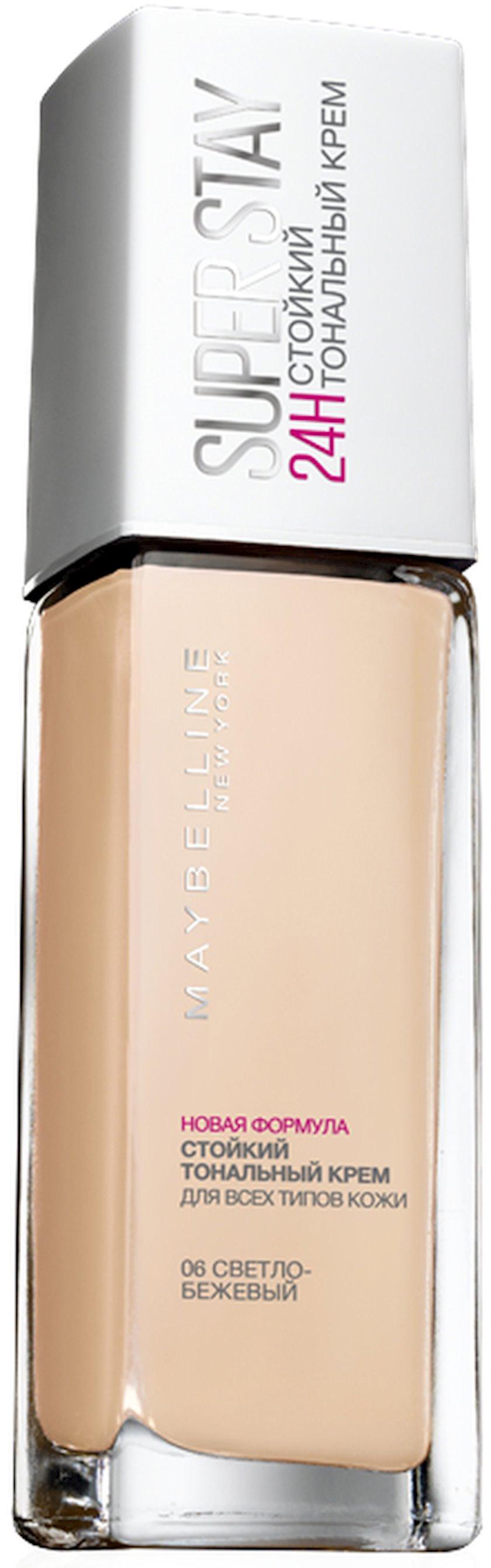 Tonal krem Maybelline New York SuperStay 24H çalar 06 Açıq bej 30 ml