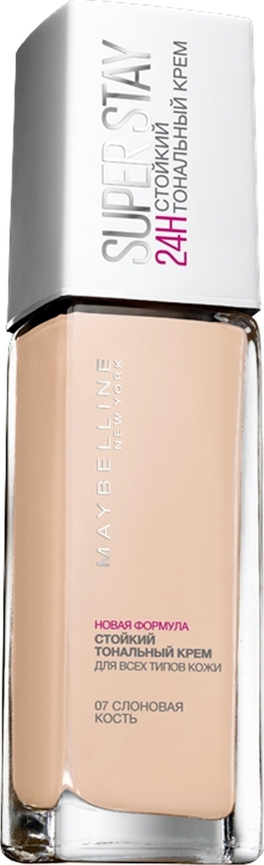 Tonal krem Maybelline New York SuperStay 24H çalar 07 Fil sümüyü 30 ml