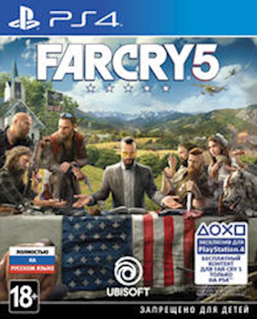 Oyun Ubisoft Montreal Far Cry 5 PS4