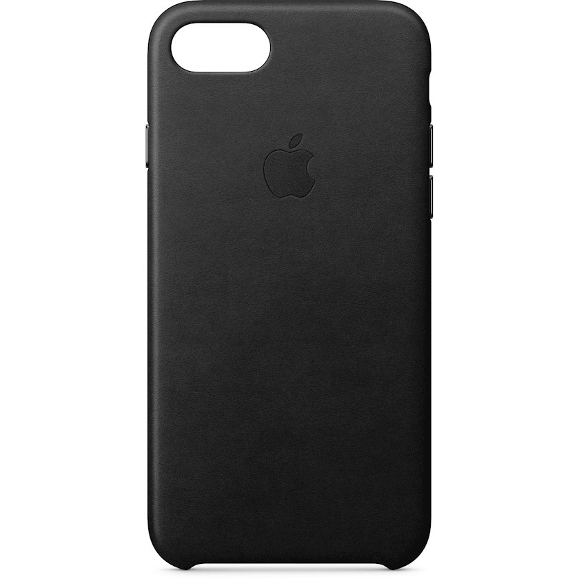 Çexol Leather Case Apple  iPhone 8 / 7 üçün Black