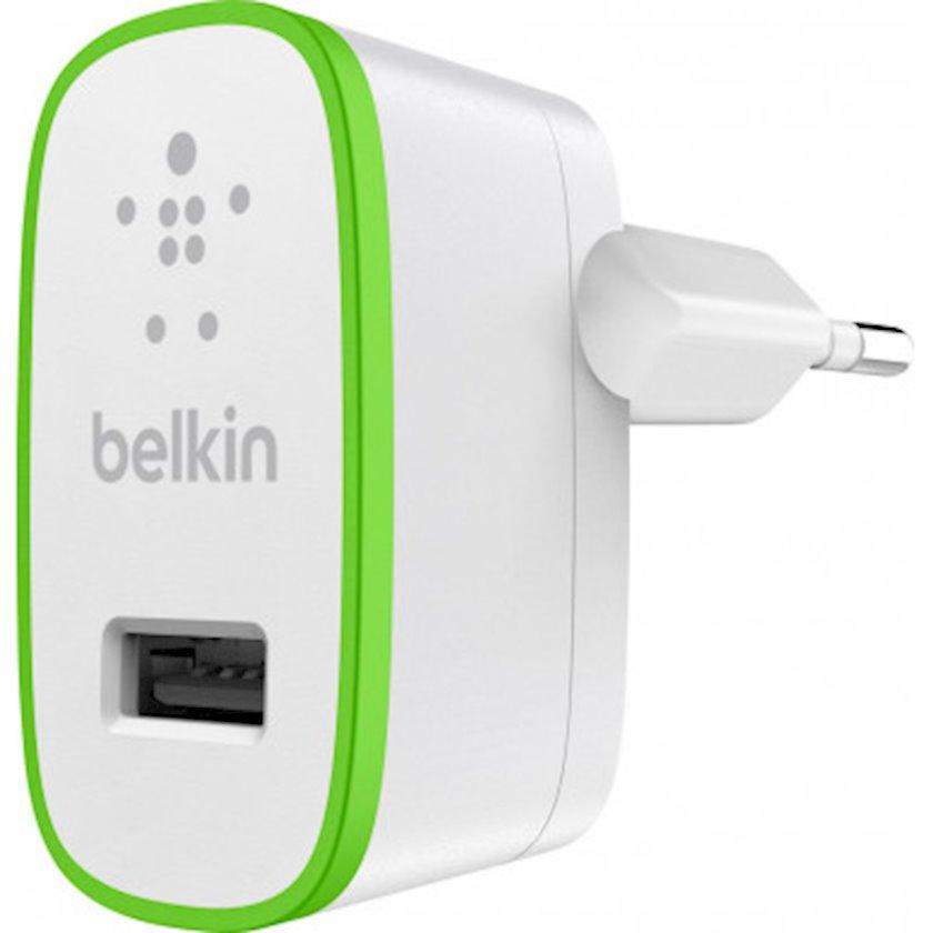 Enerji toplama cihazı Belkin Home Charger USB 2.4 A White