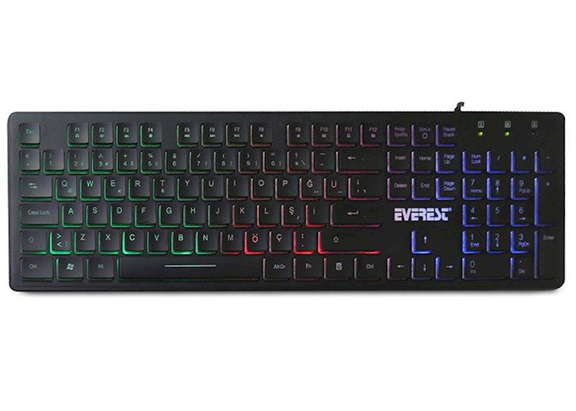 Klaviatura Everest KB-840 Black Standard Keyboard
