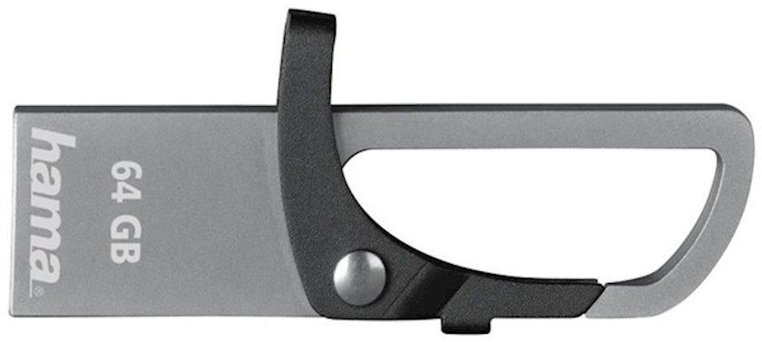 USB-Fleş kart Hama FlashPen Hook-Sty 64 Gb Usb 2.0