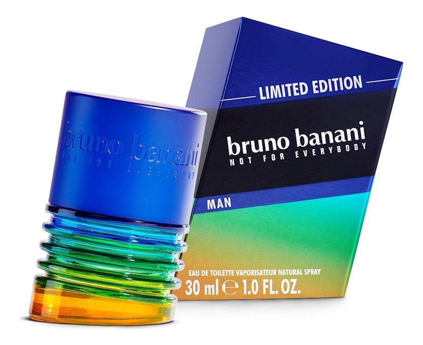 Kişilər üçün tualet suyu Bruno Banani Limited Edition Man 30ml