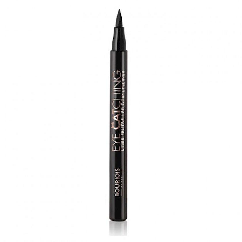 Göz üçün layner Bourjois Eye Catching Felt-Tip Eyeliner №01 Black 1.56ml