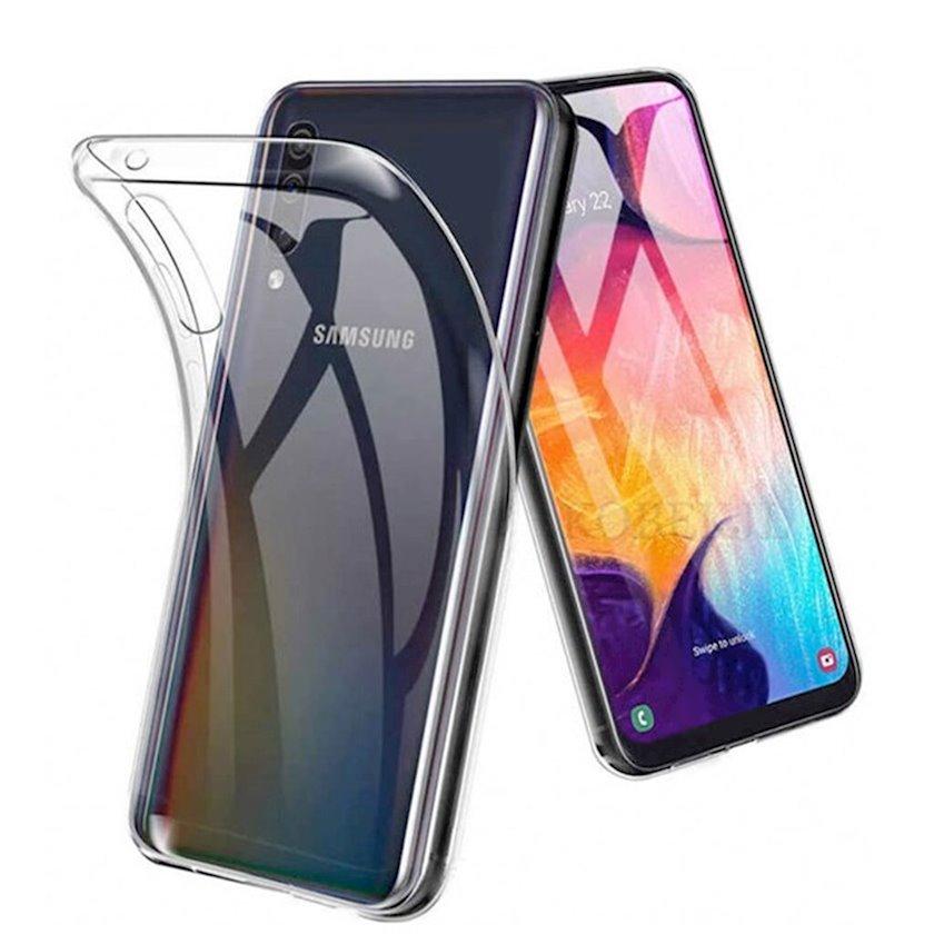 Çexol Samsung A70 üçün Transparent