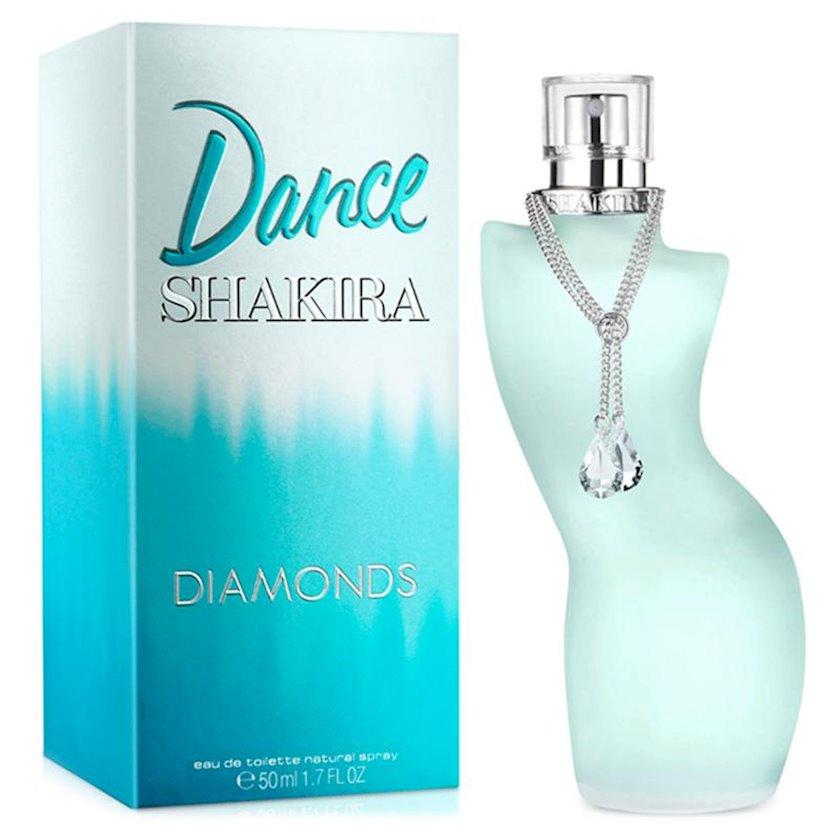 Qadınlar üçün tualet suyu Shakira Dance Diamonds 50ml