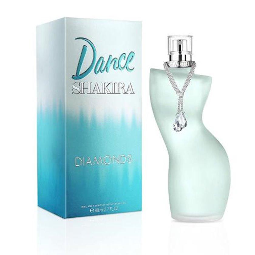 Qadınlar üçün tualet suyu Shakira Dance Diamonds 80ml