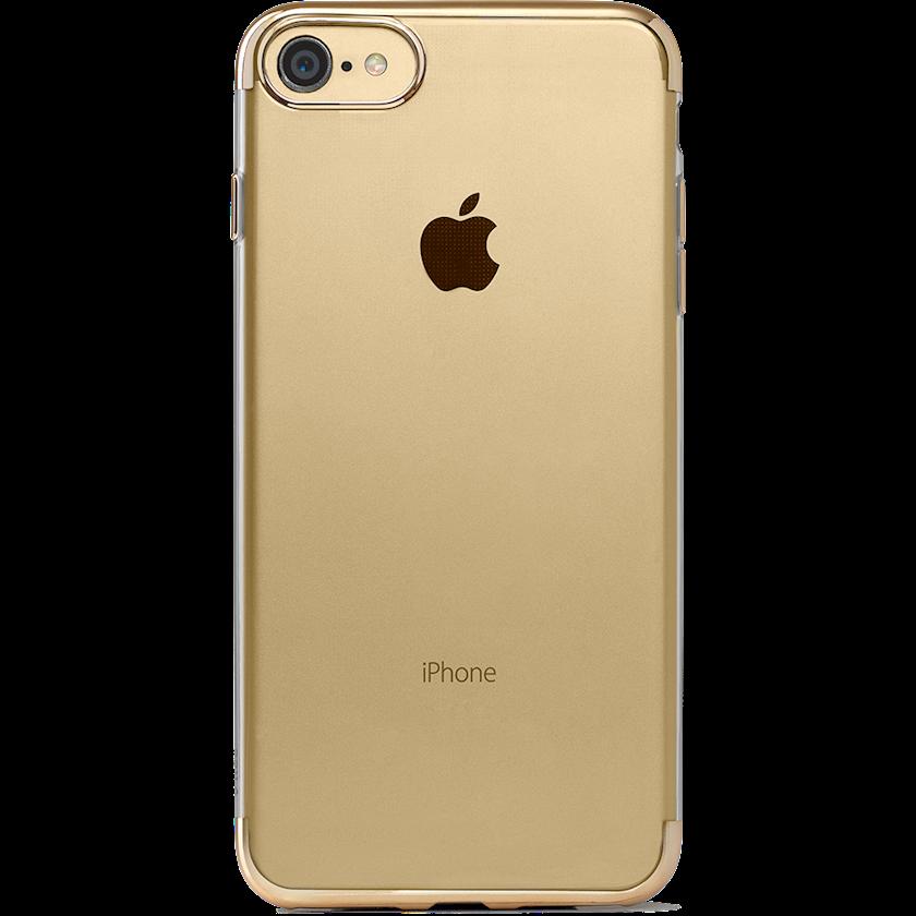 Çexol Ttec ChromeClear iPhone 8/7 üçün Yellow