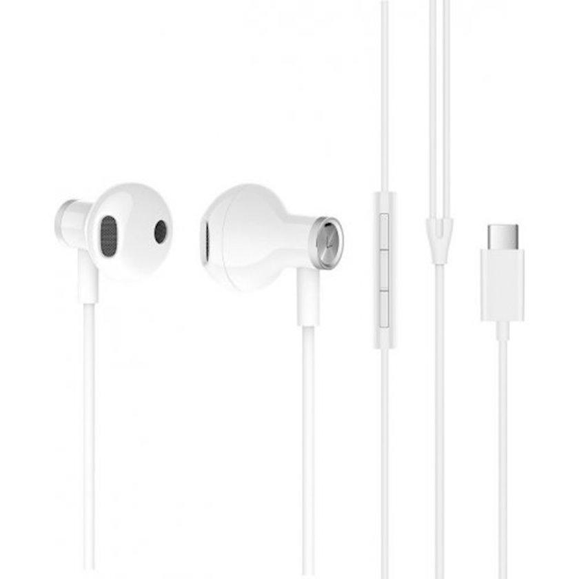 Simli qulaqlıqlar Xiaomi Dual Driver Earphones (Type-C) ZBW4434TY White