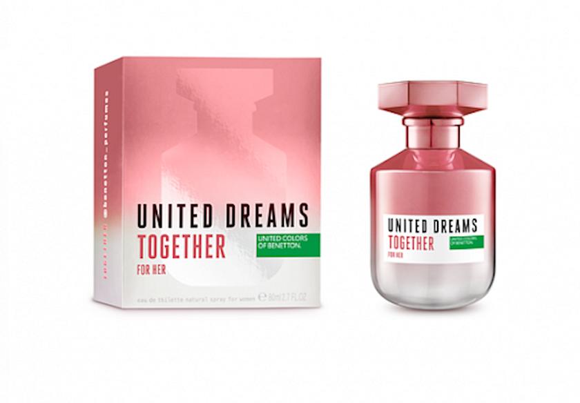 Qadınlar üçün tualet suyu Benetton United Dreams Together For Her 80 ml