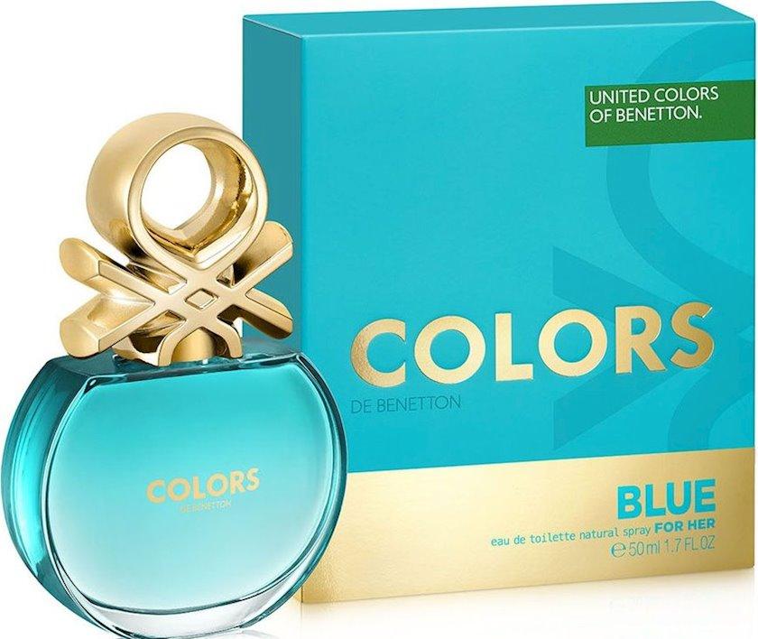 Qadınlar üçün tualet suyu United Colors of Benetton Blue 50ml