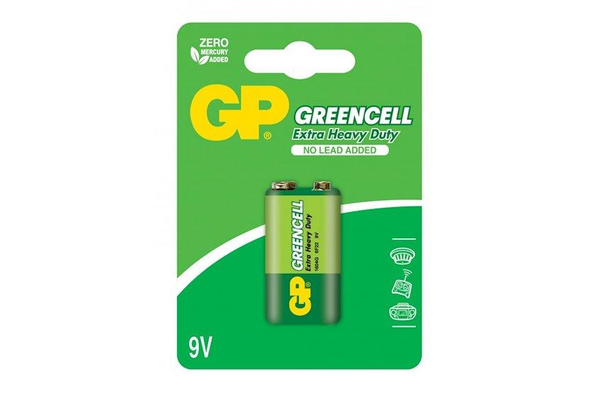 Batareya крона GP Greencell 1604G-U1, 6LF22, 9V 1 əd