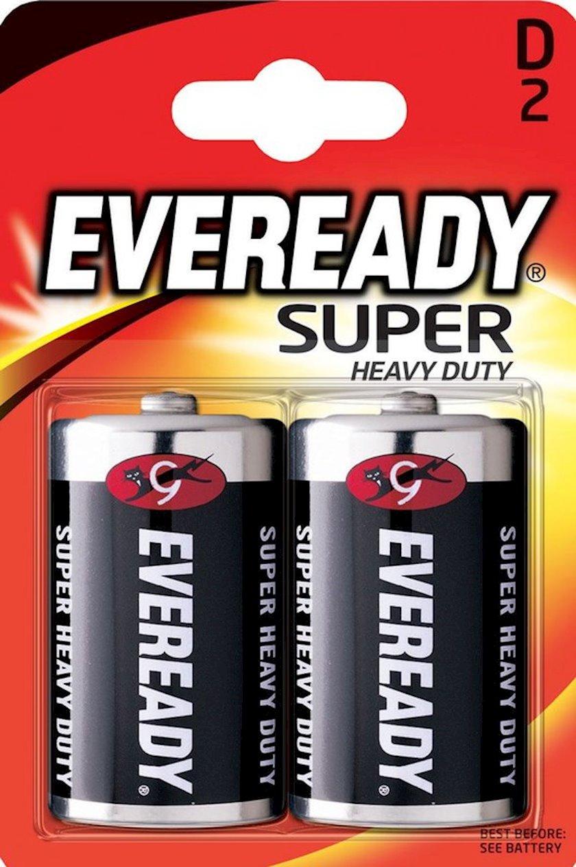 Batareya Eveready Super R20 D, 2 əd