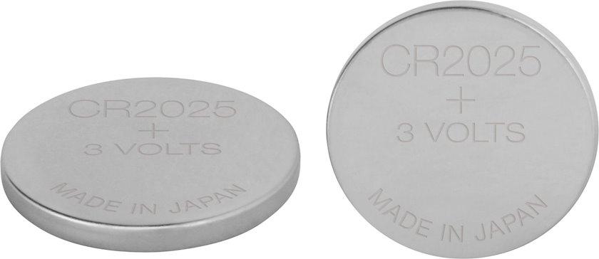 Batareya GP Lithium Battery CR2025-7C2 3V, 2 əd