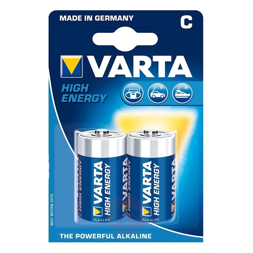 Batareya Varta С High Energy 4914 LR14, 2 əd