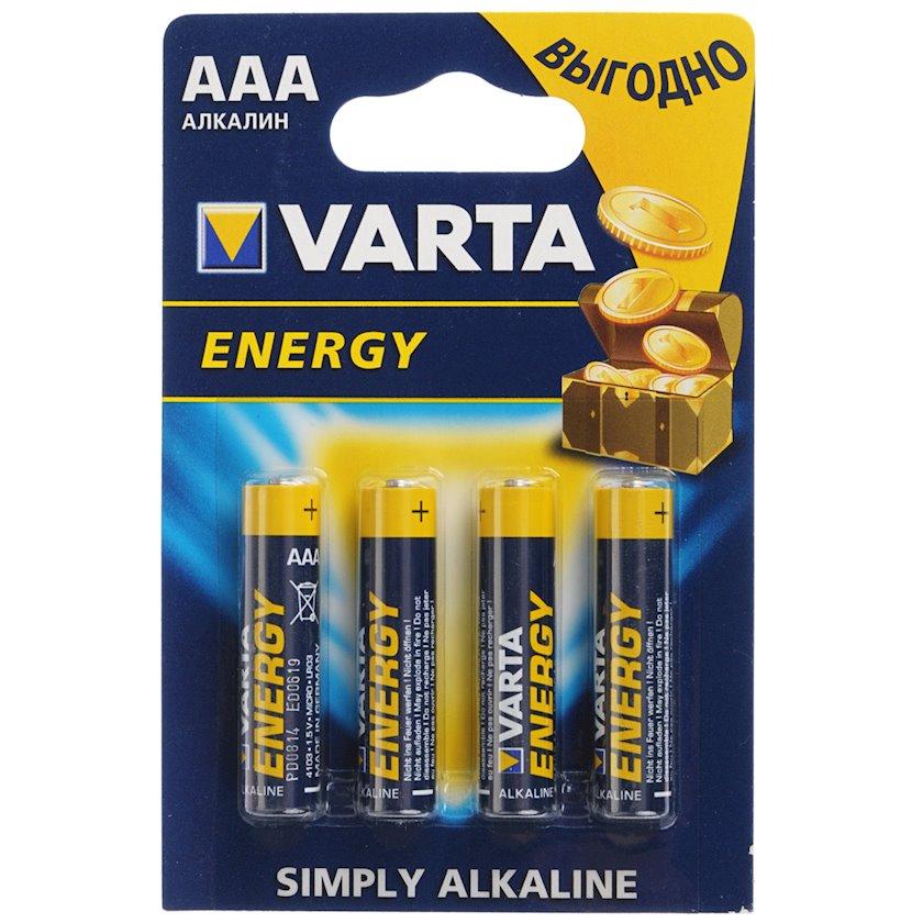 Batareya Varta Energy LR03 AAA, 4 əd